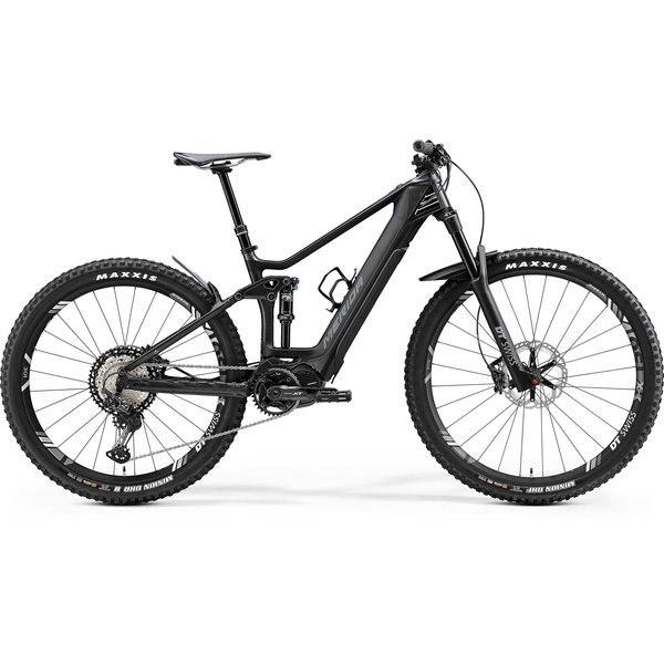 Merida Merida eOne-Forty 9000 Electric Dual Suspension Bike  2020 Gloss Anthracite/Matt Black