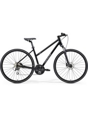Merida Merida Crossway 20D Womens City Bike 2021 Black
