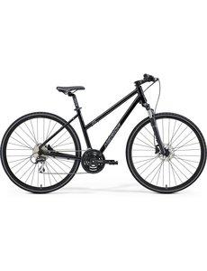 Merida Merida Crossway 20D Womens City Bike 2021 Black