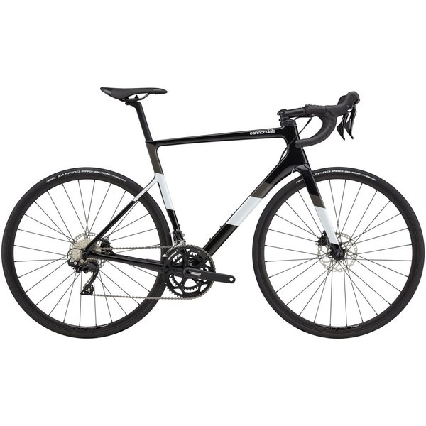 Cannondale Cannondale SuperSix EVO Carbon Disc 105 Road Bike 2021 Black/White
