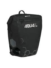Oxford Aqua V 20 Litres Single Waterproof Cycling Pannier Bag, Black