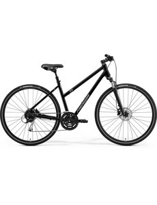 Merida Merida Crossway 100D Womens City Bike 2021 Black