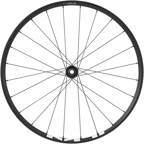 Shimano Shimano MT-500 Front Wheel, Q/R, 700c, Disc, Center Lock, Black, (29er)