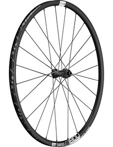 DT Swiss C 1800 SPLINE disc brake wheel, clincher 23 x 22 mm, front Black Front - 23 mm Aluminium Clincher