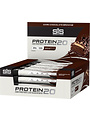 SIS Nutrition SIS Protein20 high protein bar - double chocolate brownie - 55g bar - (box of 12)