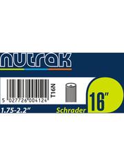 Nutrak Inner Tube 16 x 1.75 - 2.2, Schrader Valve, (tube16)