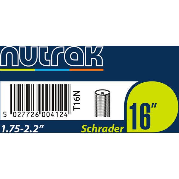 Nutrak Tube16 16 x 1.75 - 2.2 Schrader Valve