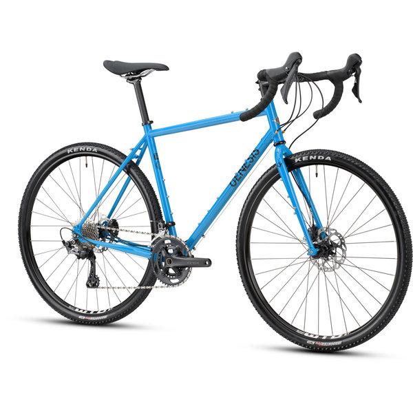 Genesis Genesis Croix De Fer 40D Gravel Bike (RX600/RX810 11Sp Hydraulic Disc) 2021 Blue