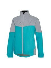 Madison **SHOP SOILED** Madison Stellar Reflective Womens Cycling Waterproof Jacket 2020 Aqua Blue Size 8