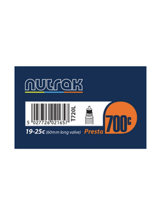Nutrak Road 700 x 19 - 25C (19/25 - 622, tube700) Presta 60mm valve