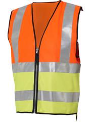 Madison Madison Hi-viz reflective vest conforms to EN471 standard (with Zip)