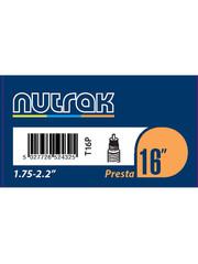 Nutrak Inner Tube 16 x 1.75 - 2.2, Presta Valve, (tube16)
