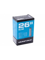 Impac Inner Tube 26 x 1.1/2 – 1.3/8 (Slim), Schrader Valve, (tube26)