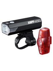 CatEye Cateye Ampp 400 & Viz 150 USB Rechargeable Lights Set