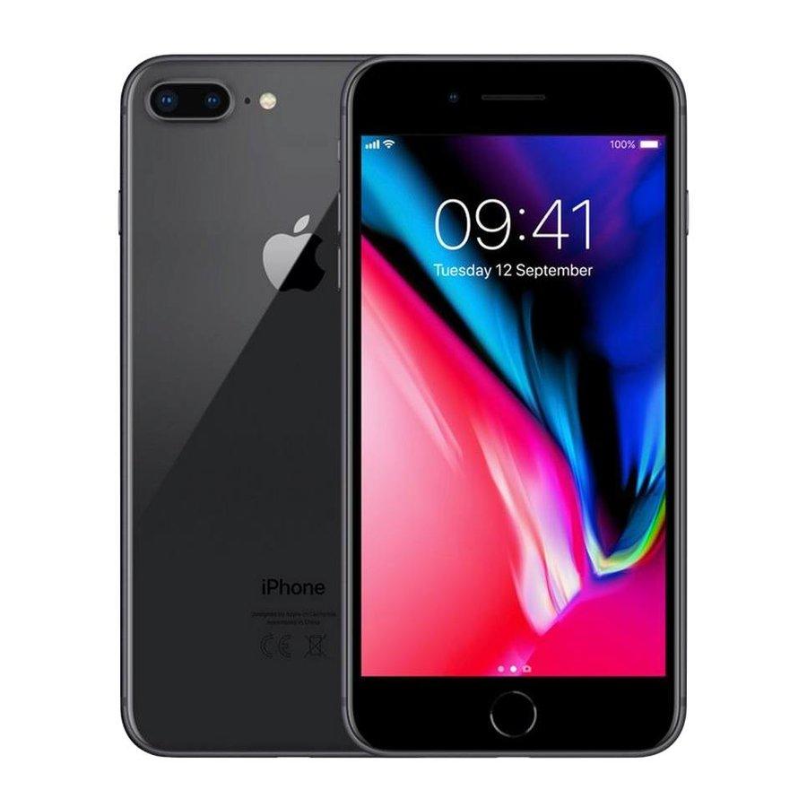 iPhone 8 Plus - 64GB - Black - Nieuw