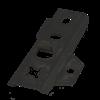 FixingGroup DILA2 Universal-Terrassenverbinder 22 mm Edelstahl  schwarz
