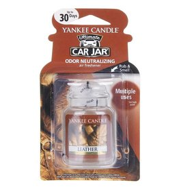 Yankee Candle Leather Car Jar Ultimate