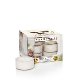 Yankee Candle Shea Butter Tea Lights 12 st
