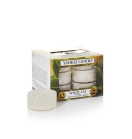 Yankee Candle White Tea Tealights 12 st