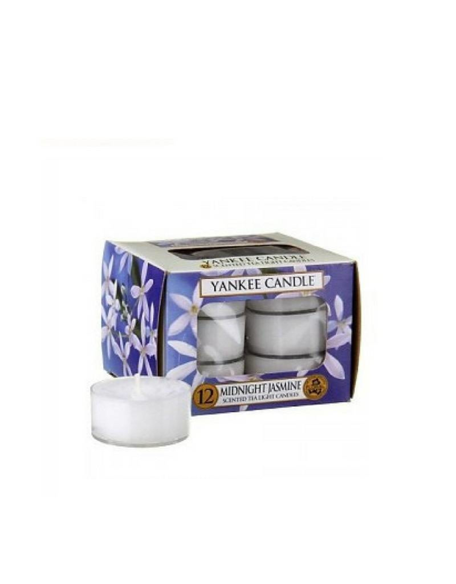Yankee Candle Midnight Jasmine Tea Lights 12 st