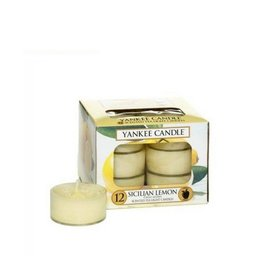 Yankee Candle Sicilian Lemon Tea Lights 12 st