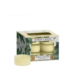 Yankee Candle Tobacco Flower  Tea Light 12 st