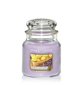 Yankee Candle Lemon Lavender Medium Jar
