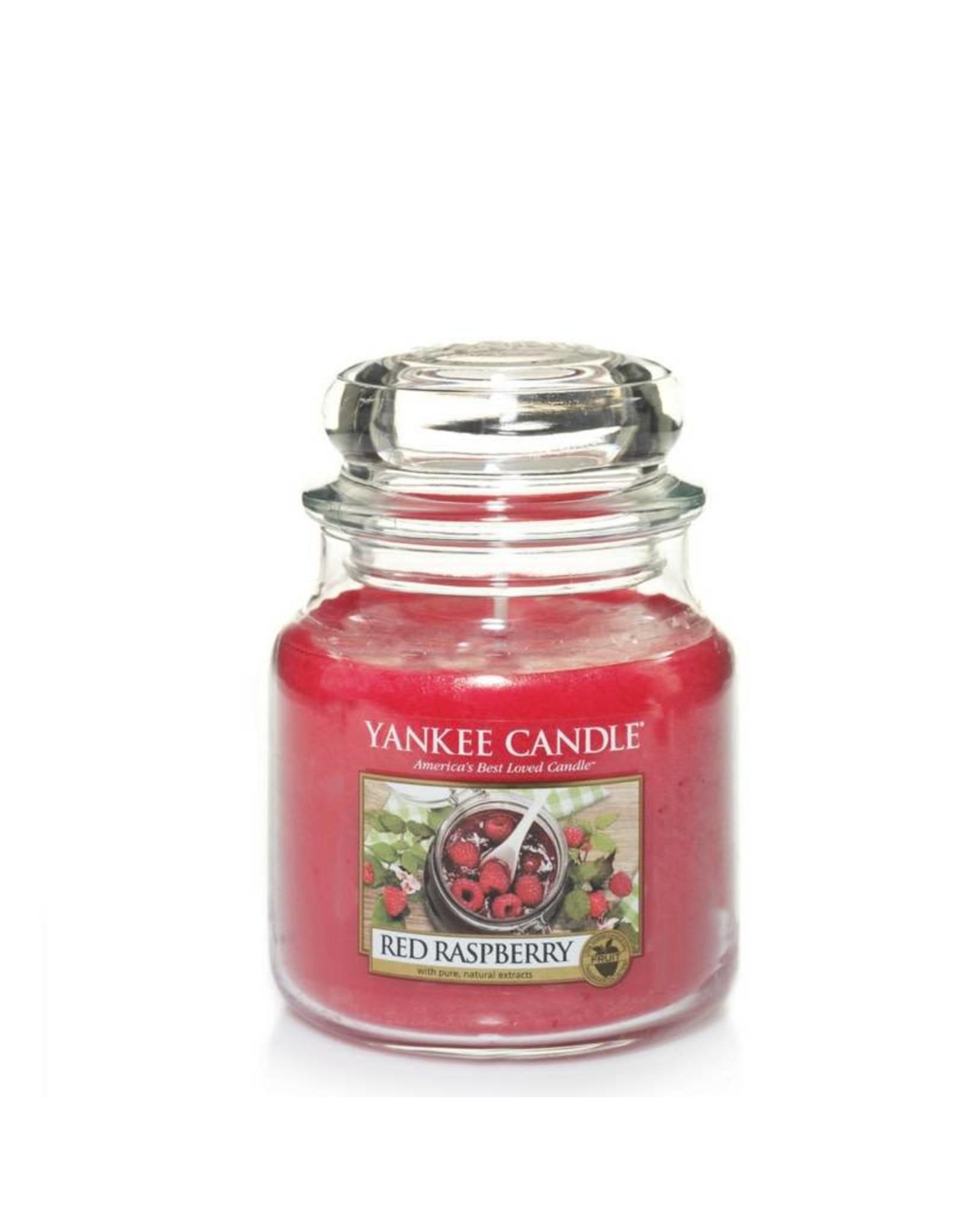 Yankee Candle Red Raspberry Medium Jar