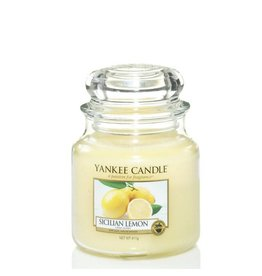 Yankee Candle Sicilian Lemon Medium Jar