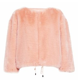 French Connection Faux-Fur Jacket - Leonie