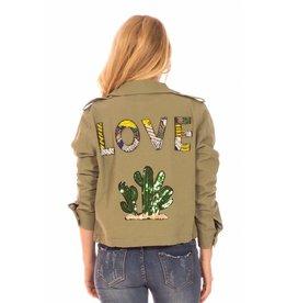 Minueto LAATSTE STUK L - Vest - Love Cactus