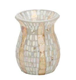 Yankee Candle Gold Wave Mosaic Melt Warmer