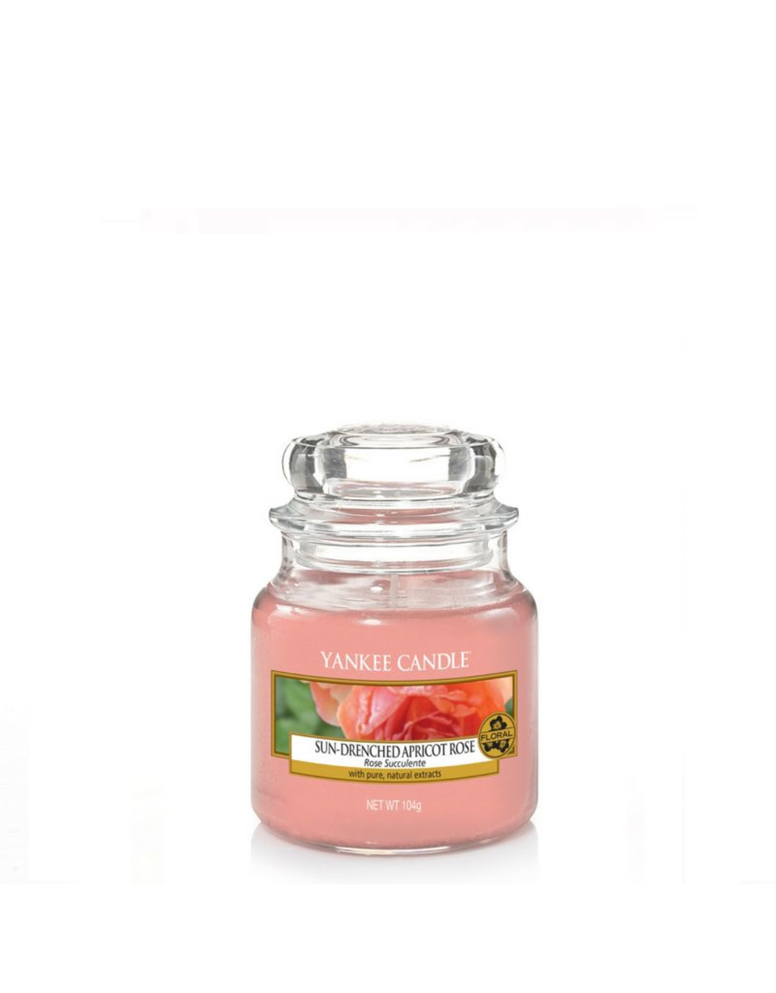 Yankee Candle Sun-Drenched Apricot Rose - Small Jar