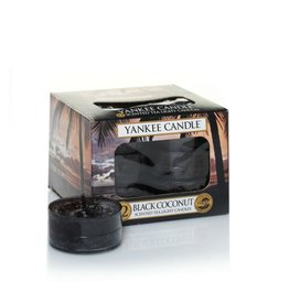 Yankee Candle Black Coconut Tea Lights 12 st