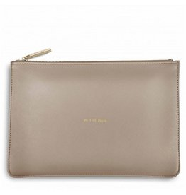 Katie Loxton Pochette - In the bag - Grijs