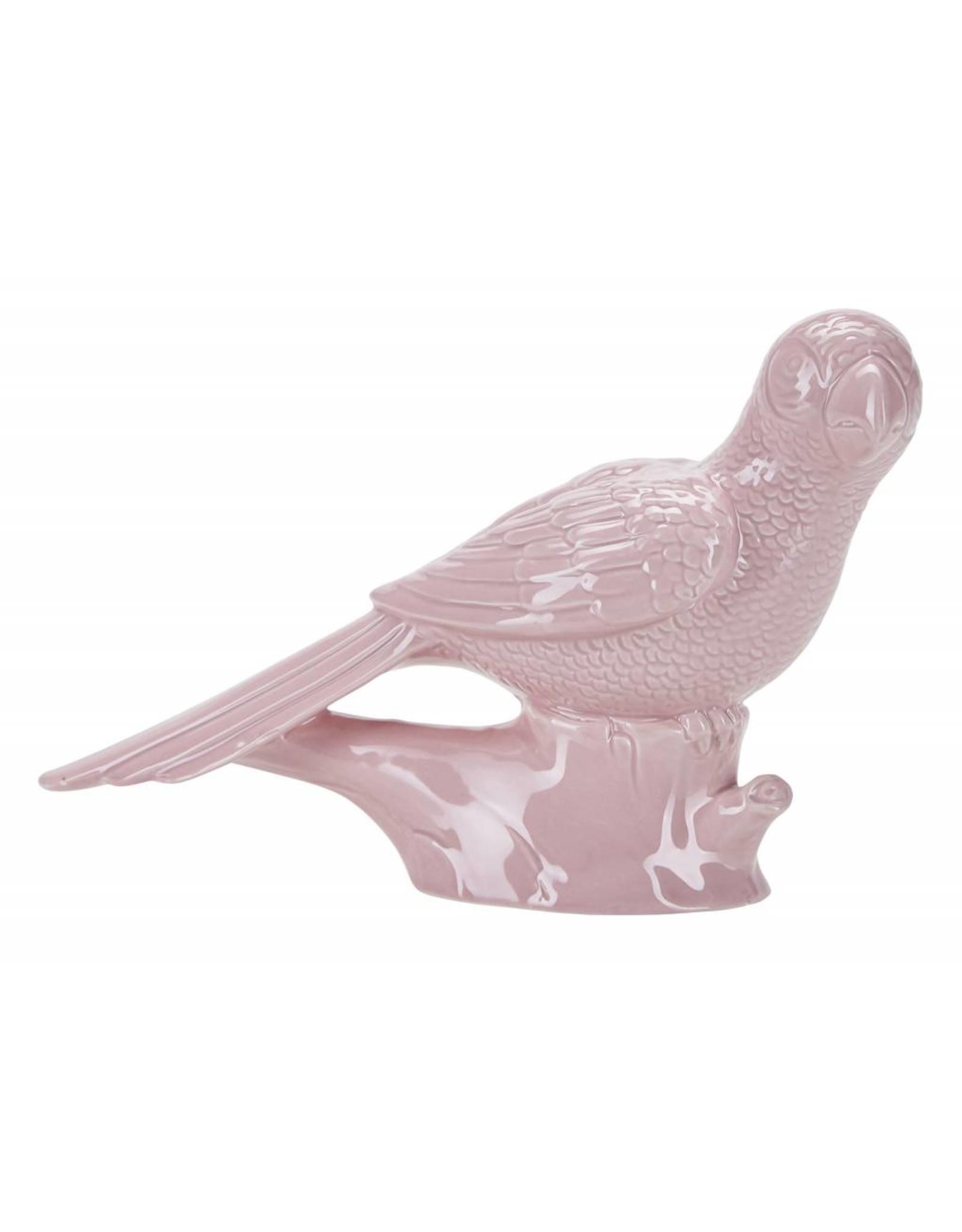 Miss Etoile CF002 Decoratie - Papegaai Staand Roze