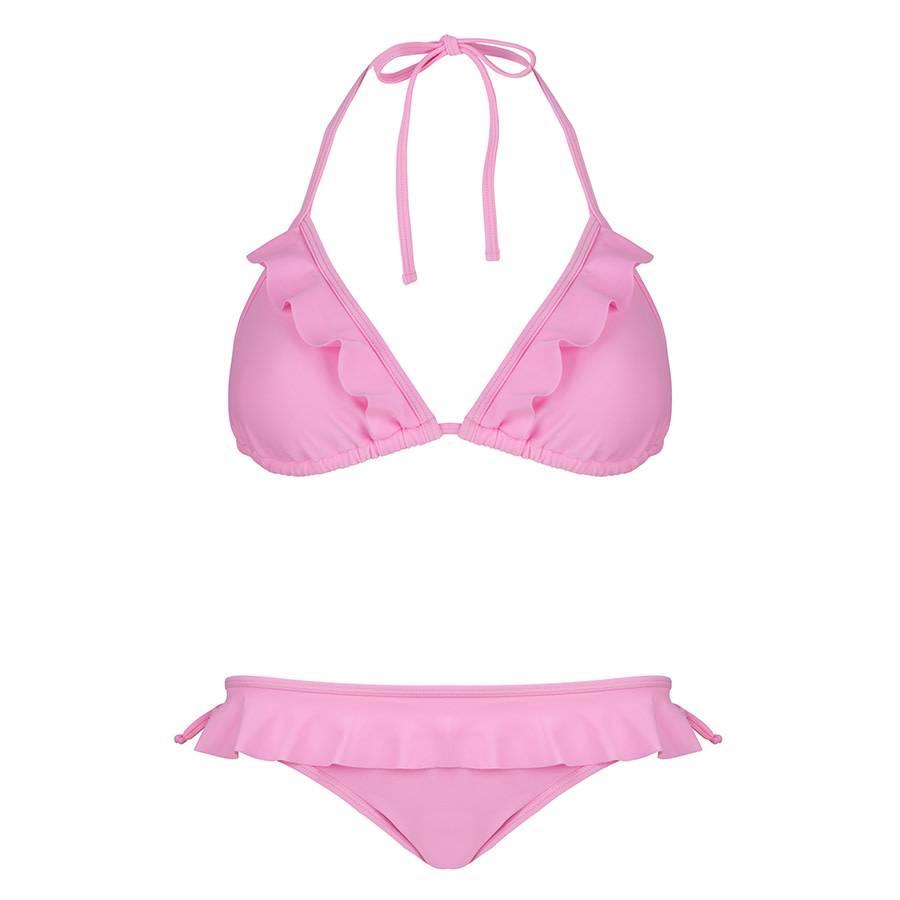Blake Seven Bikini - Pink Ruffle