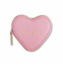 Katie Loxton Geldbeugel - Heart Pink