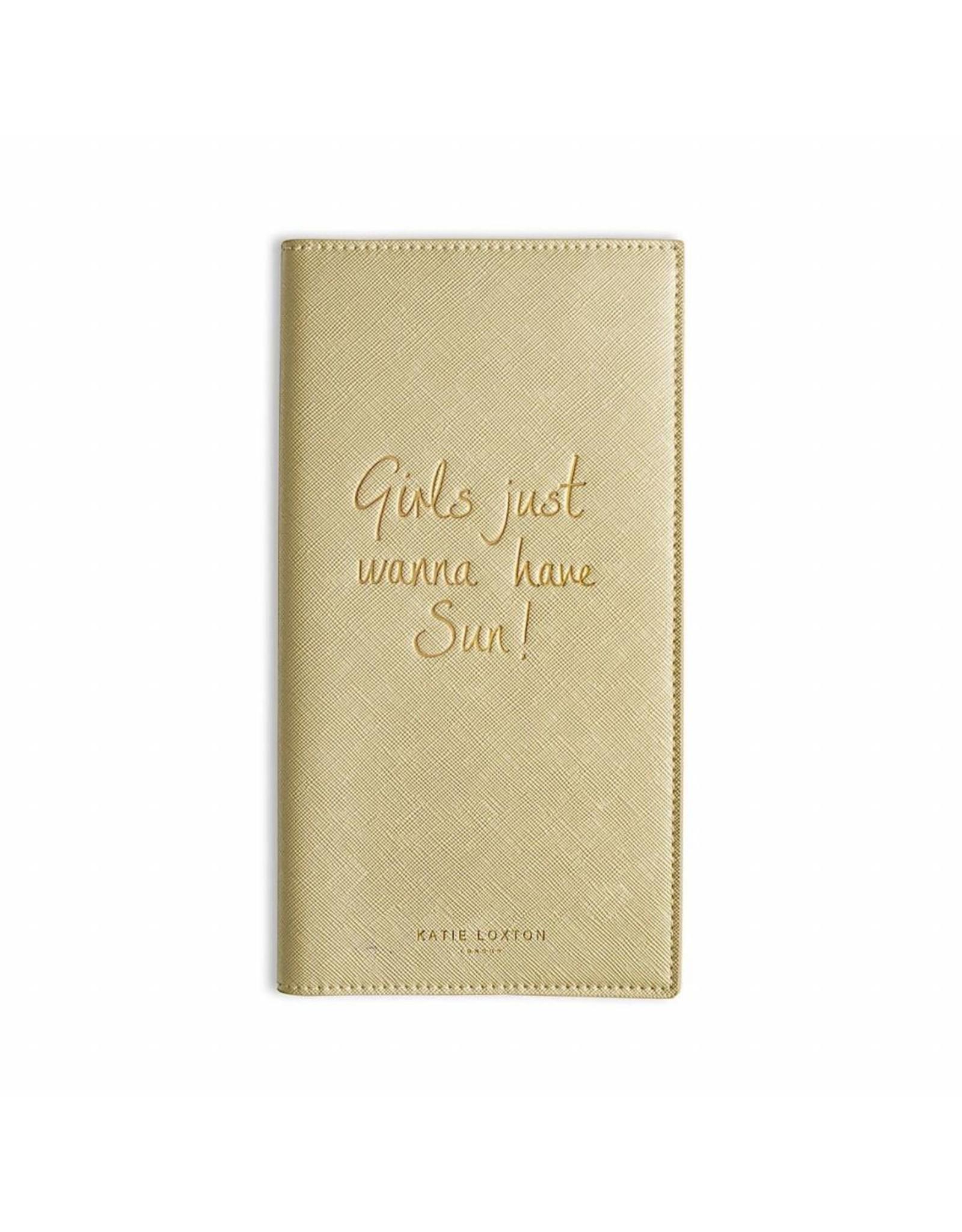 Katie Loxton Reisportefeuille - Girls wanna have Sun
