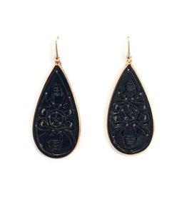 Lott. Agate Drop - Zwart
