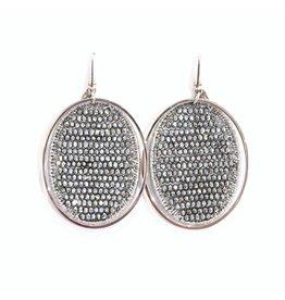 Lott. Silk Oval - Silver