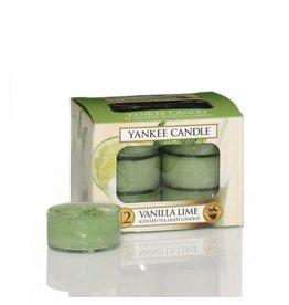 Yankee Candle Vanilla Lime Tea Lights 12 st