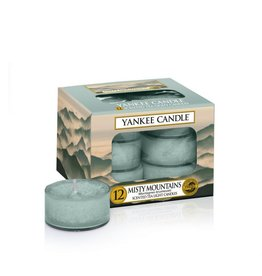 Yankee Candle Misty Mountains Tea Lights 12 st