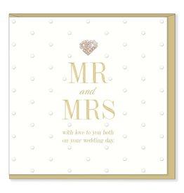 Hearts Design MR & MRS
