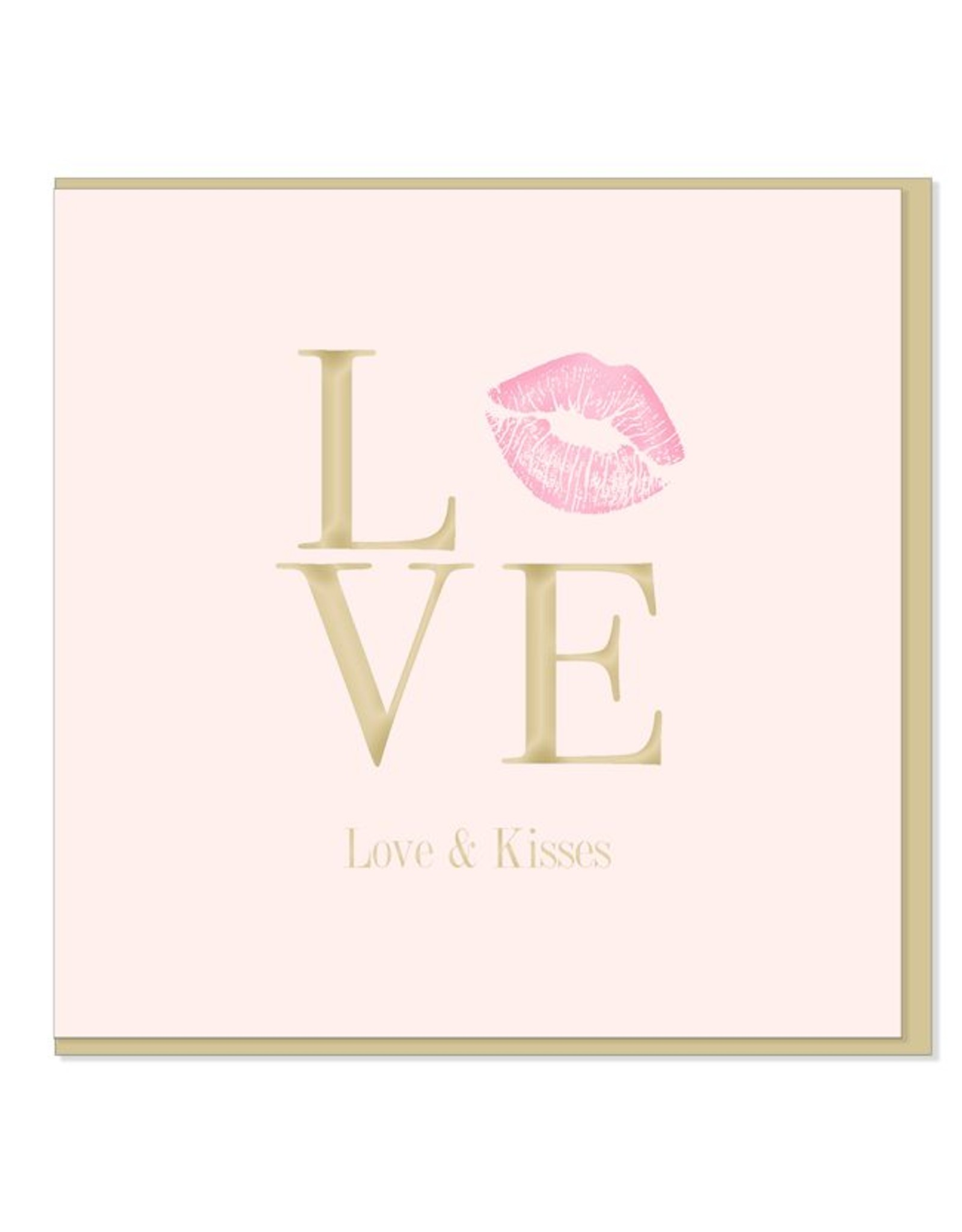 Hearts Design Love & kisses