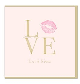 Hearts Design Love & kisses
