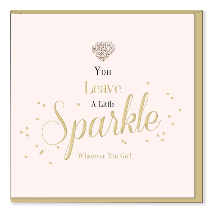 Hearts Design Leave a little sparkle
