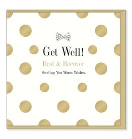 Hearts Design Get well