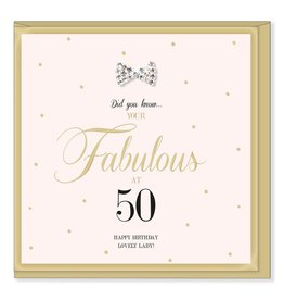 Hearts Design Birthday 50