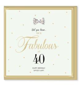 Hearts Design Fabulous 40